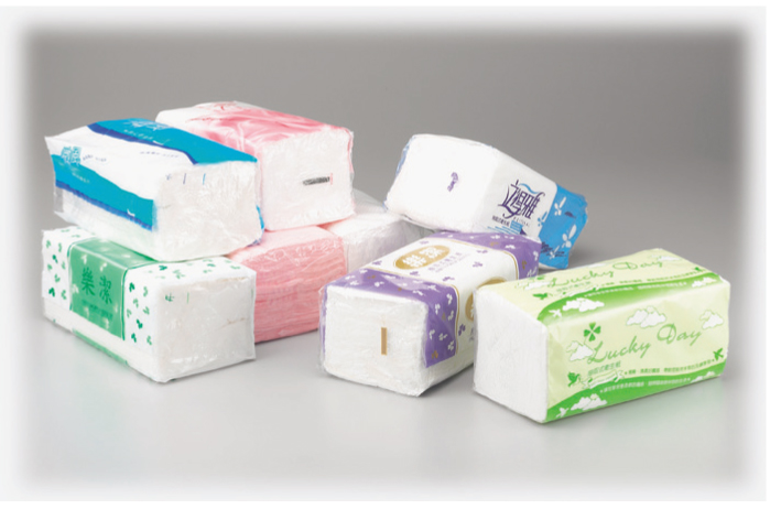 Fully Automatic Facial Tissue Paper/Hand Towel Soft Pack Overwrapping Machine